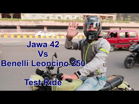 Jawa 42 Vs Benelli Leoncino 250 Test rides    This is why Jawa refused to give us test ride of Perak