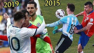 The Truth Between Messi VS Gary Medel