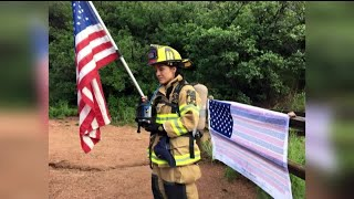 Local firefighters climb Manitou Incline to honor 9/11 fallen