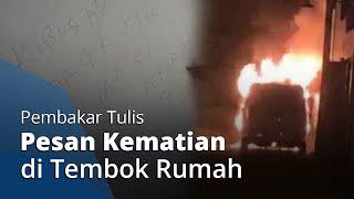 Pembakar Mobil Via Vallen Tulis Pesan Kematian di Tembok Rumah sang Pedangdut: Mati Kalian!