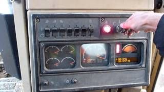 Cat D10R Startup and Controls