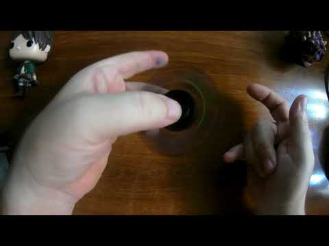 Fidget Spinner #6 Silica Gel (for playstation fans) - UNBOXING (by Banggood)