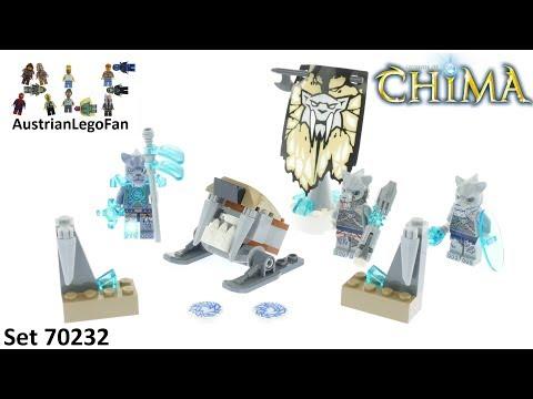 Vidéo LEGO Chima 70232 : La tribu Tigre à dents de sabre
