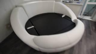 Кровать круглая Янтарь ( Онтарио ) от компании ООО «Кайгородов» - видео