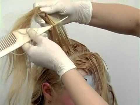 Колорирование на светлые и белые волосы