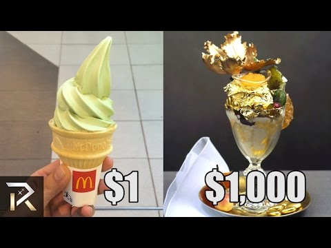 $1000 Ice Cream and 10 Most Expensive Everyday Things