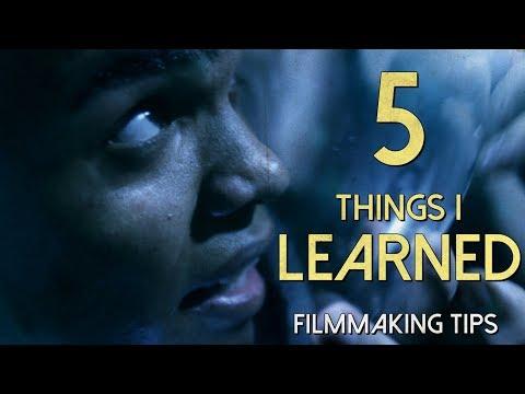 Writing Short Films, Overdirecting, & More   5 Things I Learned