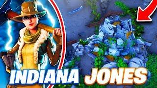 ESCAPE GAMES: INDIANA JONES SUR FORTNITE !!!