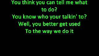 D-Generation-X - Theme Song - Lyrics