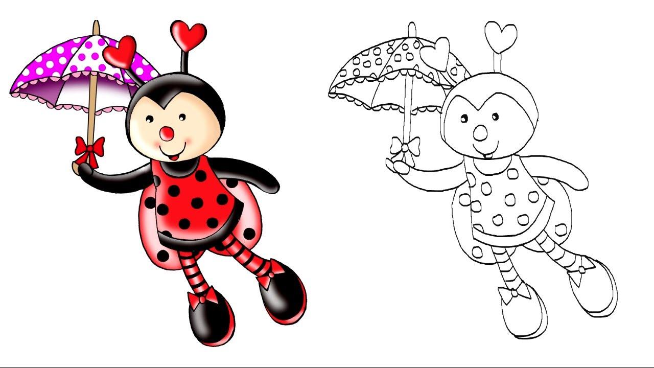 Desenhando a Galera TUBKID - JOANINHA - Clip Infantil