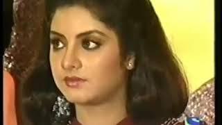 Divya Bharti Live Memorable Interview 