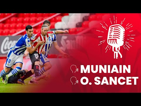 🎙 Iker Muniain & Oihan Sancet | post Athletic Club 0 – 1 Real Sociedad | 16.J LaLiga 2020-21