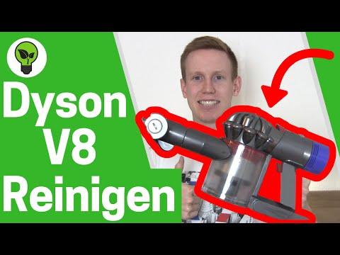 Dyson V8 Reinigen ✅ ULTIMATIVE ANLEITUNG: Wie Dyson v8 absolute Staubsauger & Filter Entleeren!!!