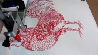 AxiDraw - 9in Rooster