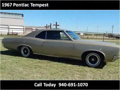 1967 Pontiac Tempest for Sale - CC-990842