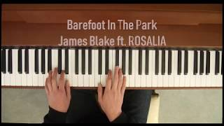 Gambar cover James Blake - Barefoot In The Park ft. Rosalia (Piano Cover)