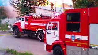 22.08.2017 Пожар на ул. Нижняя (Ижевск)