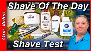 Your Sunday One Shave Of The Day and Shave Testing Dilucot and Unicot Edges