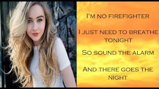 Smoke And Fire   Sabrina Carpenter (Lyrics)