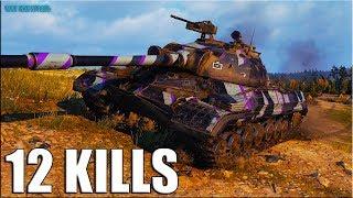 12 ФРАГОВ за бой 🌟 Т-10 World of Tanks