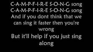 The campfire song song lyrics