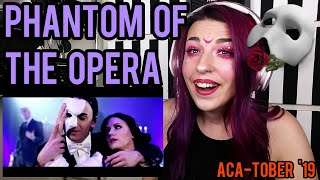 "REACTION | VOICEPLAY ""PHANTOM OF THE OPERA"" ft. RACHEL POTTER"