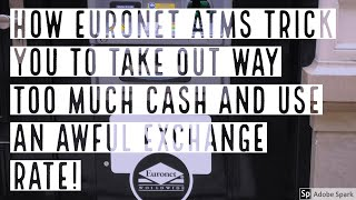 HOW EURONET ATMS TRICK YOU AND USE AN AWFUL EXCHANGE RATE -- True Guide Budapest