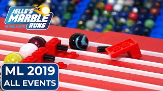 EPIC Marble Race: Marble League 2019 All Events!