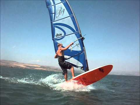 BGSurfing pioneer wave sail review