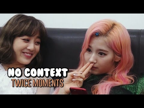 no context TWICE moments