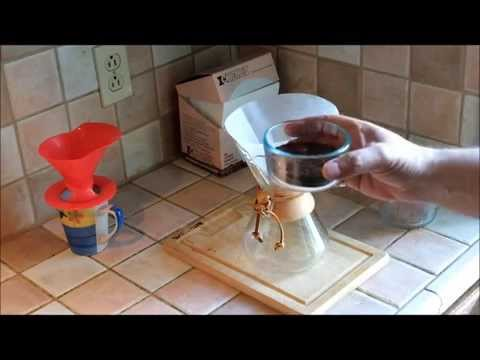 How to use the Chemex brewer