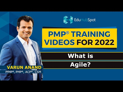 PMP 2021: PMP Certification: Introduction to Agile (2021): New PMP ...