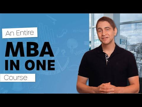 Entire MBA in 1 Course Trailer