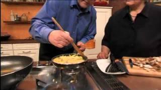 Rösti mit Shiitake-Pilzen