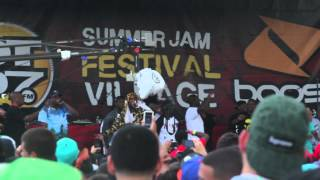 "ASAP Rocky ""Thuggin Noise"" @Hot 97 Summer Jam Festival"
