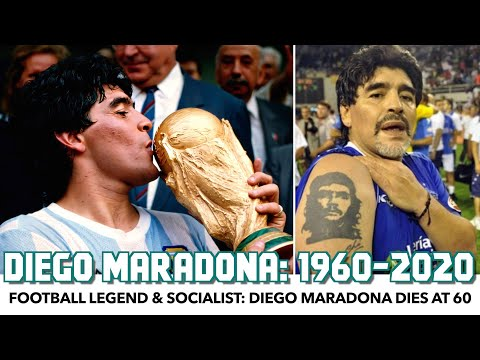 Football Legend & Socialist: Diego Maradona Dies At 60