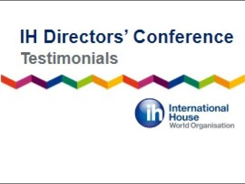 IH Directors' Conference 2017 - Testimonials