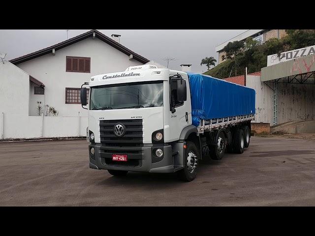 Vídeo do caminhão 24.250 Granel Bitruck
