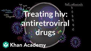 Treating HIV: Antiretroviral drugs | Infectious diseases | NCLEX-RN | Khan Academy