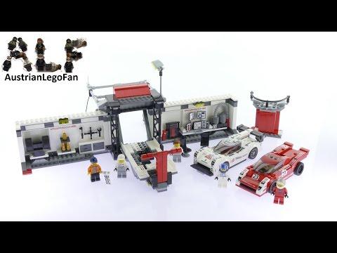 Vidéo LEGO Speed Champions 75876 : Le poste de ravitaillement des Porsche 919 Hybride et 917K