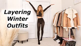 Winter Outfit Ideas | Layering