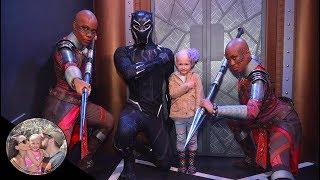 Dora Milaje show our daughter it's ok to be bald! #BaldIsBeautiful   Disneyland vlog #91