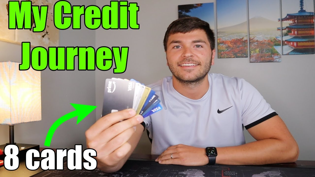 Why I Have 8 Credit Cards: My Entire Credit Journey thumbnail