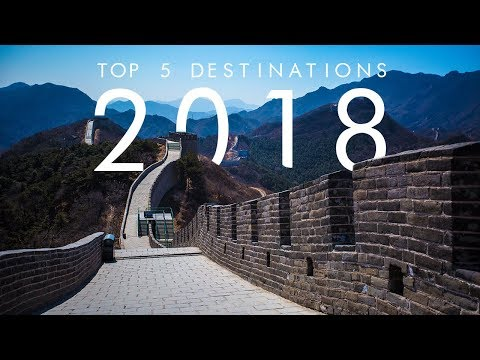 5 BEST Travel Destinations For 2018 | UNILAD Adventure