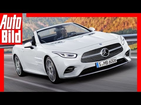 Zukunftsaussicht: Mercedes-Benz SL (2020) Details / Erklärung
