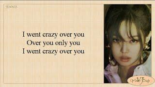 BLACKPINK - Crazy Over You (Lyrics)