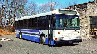 🚍 ABANDONED... 2002 Blue Bird Xcel 102 (CNG) Bus @ Edgewood, Maryland