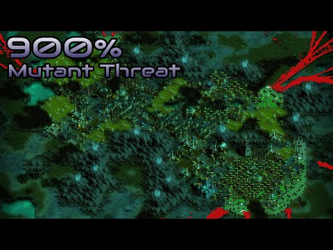 They are Billions - 900% No pause - Mutant Threat - Caustic Lands