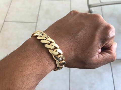 14mm Miami Cuban Link Bracelet DanielJewelryInc Review