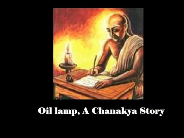 The story of greek ambassador and chanakya